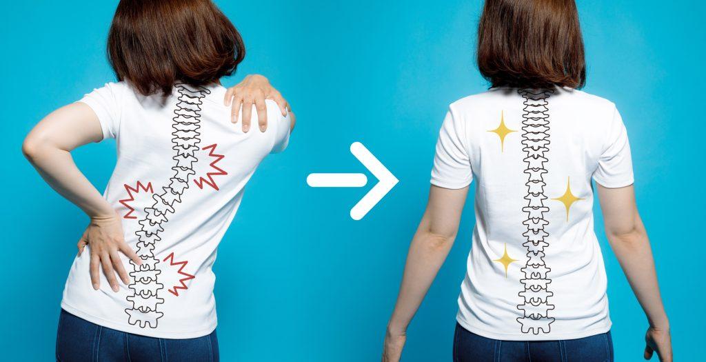 肩こりは背骨や骨盤のゆがみが原因